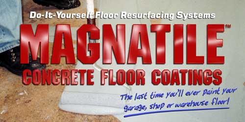 Magnatile Concrete Coatings Garage Floor Epoxy Paint And
